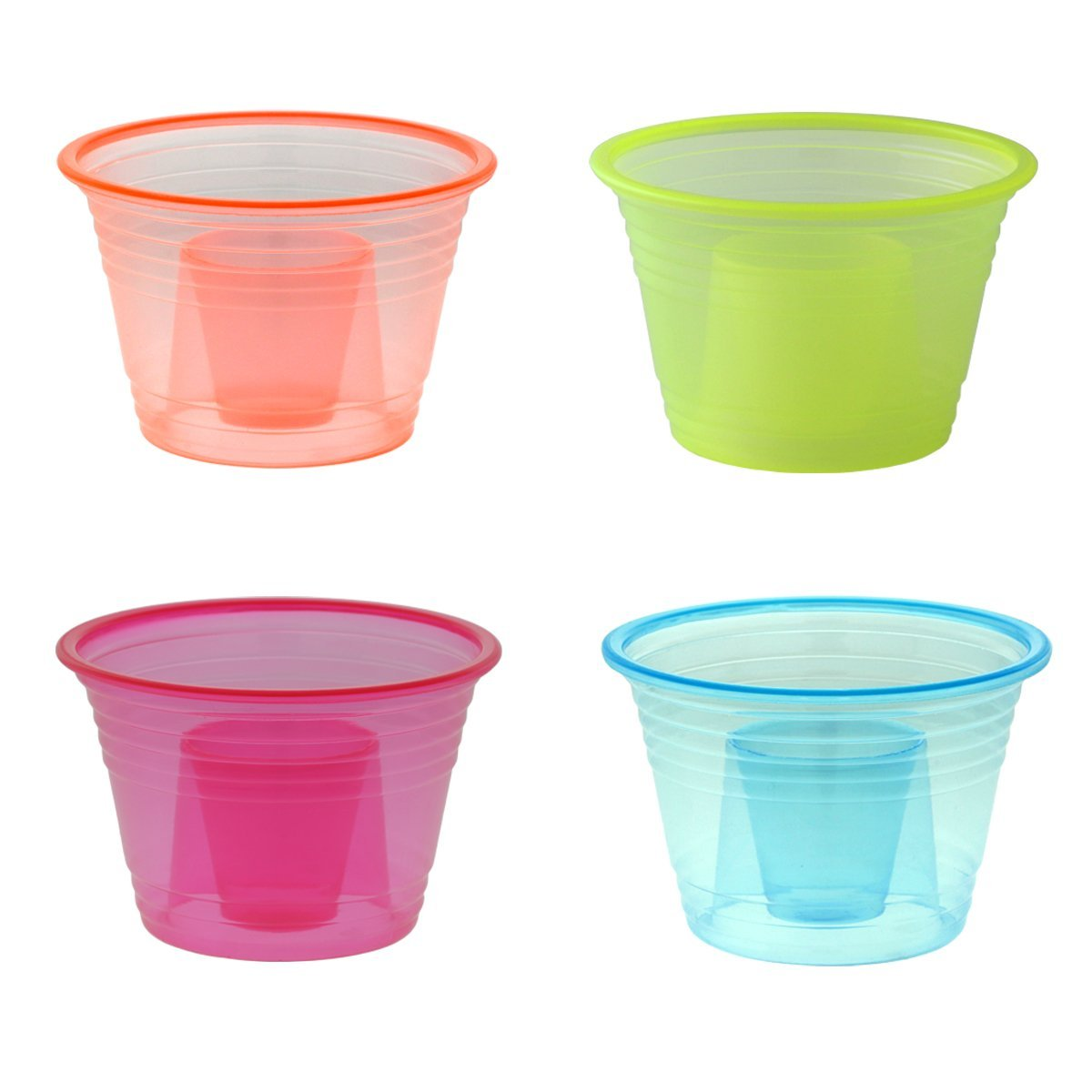EaMaSy Party 1-2.75 oz.Blaster Bomb Shot Cups/ Power Bombs Colorful