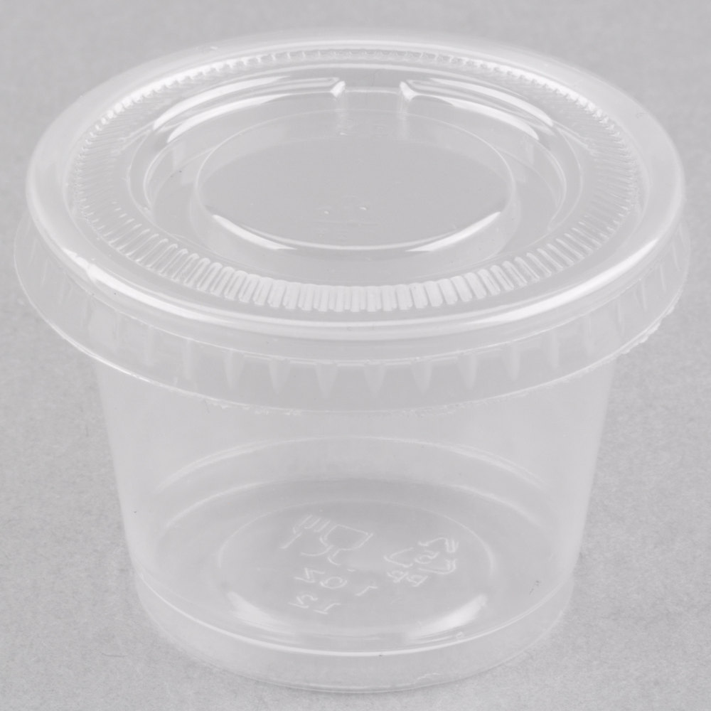 Top Clear Plastic Cup : Eamasy party oz clear plastic souffle cup portion