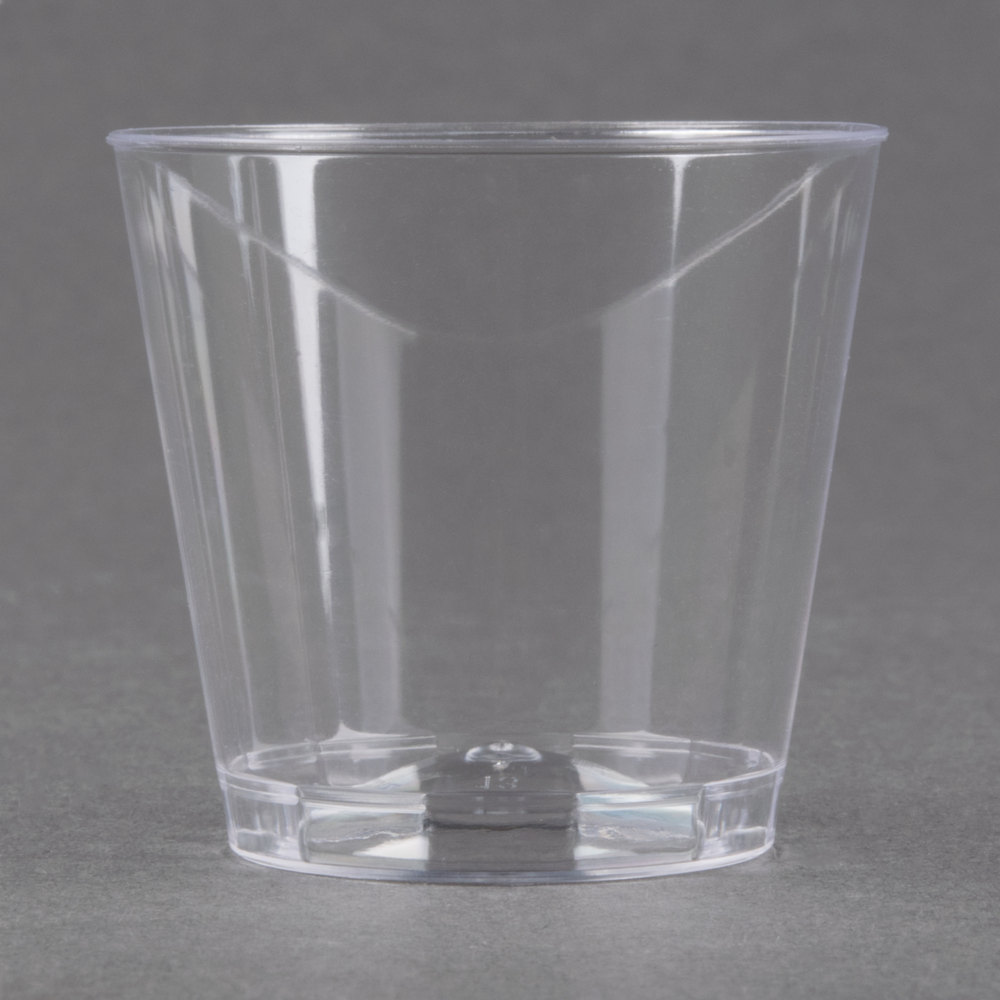 EaMaSy Party 1 Oz. Plastic Shot Glasses