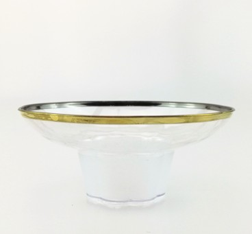 EaMaSy Party 5 oz. Tiny Tumblers Clear Plastic Bowl