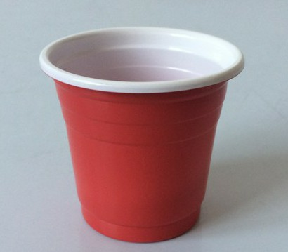 EaMaSy Party  6OZ .Double Colore  Plastic Shot  Cups