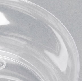 EaMaSy Party  Crystal   Clear 10 oz. Plastic Bowl
