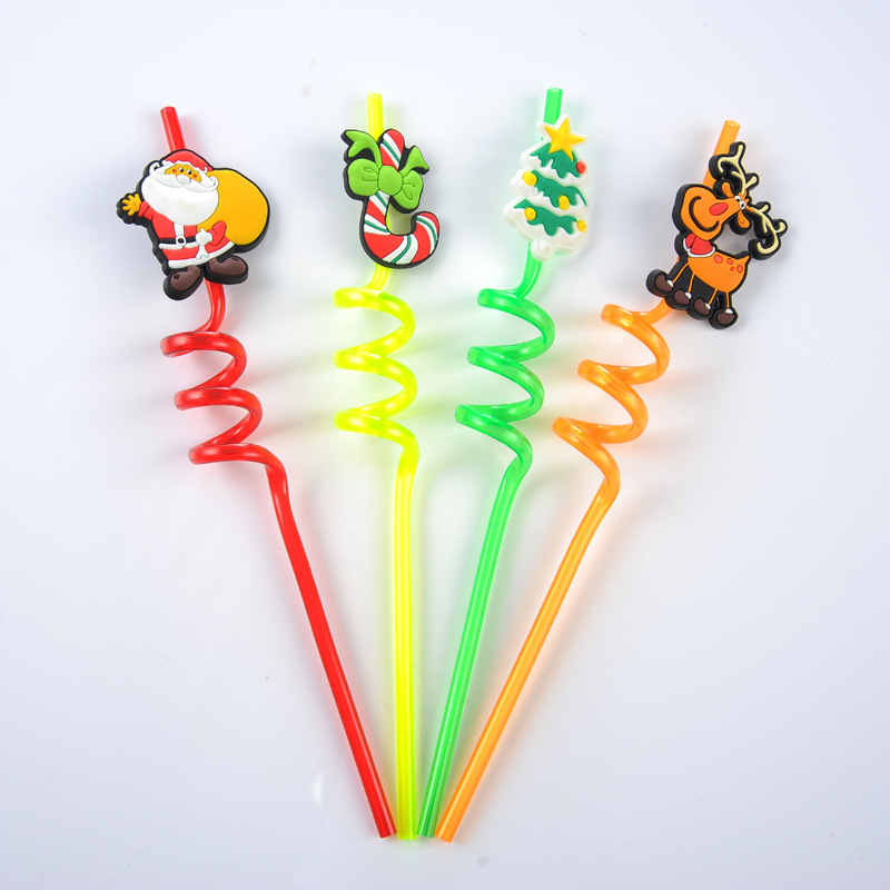 EaMaSy Party Jumbo 5mm Christmas  Art  Straws/Crazy Diy Straw