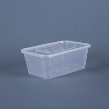 1000ML TAKEOUT  RECTANGULAR FOOD CONTAINER WITH LID