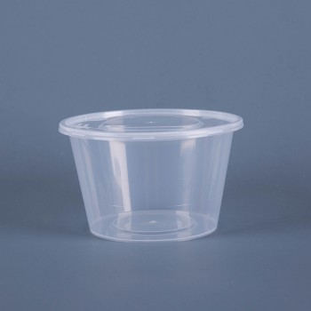 EaMaSy 1250ML CIRCURAL TACKEOUT FOOD CONTAINER