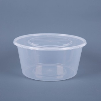 EaMaSy 3500ML CIRCURAL TACKEOUT FOOD CONTAINERS