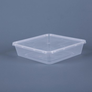 EaMaSy 750ML SQUARE TACKEOUT FOOD CONTAINERS