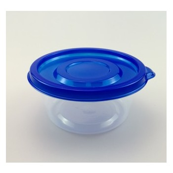 EAMASY 9.5OZ/280ML MINI CIRCULAR  TAKE -OUT FOOD CONTAINER