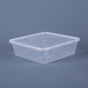 EaMaSy 950ML SQUARE TACKEOUT FOOD CONTAINER