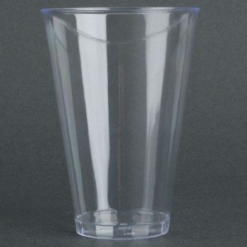 EaMaSy Party 14 oz. Tall Clear Hard Plastic Tumbler