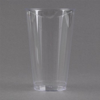 EaMaSy Party 16 oz. Tall Clear Hard Plastic Tumbler