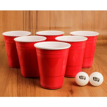 EaMaSy Party 16OZ .Double Colore  Plastic  Game Cups/Beer Pong Cups