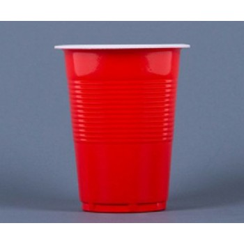 EaMaSy Party 18OZ .Double Colore Plastic  Cups