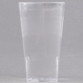 EaMaSy Party 2.4 oz. Tiny Tumblers Clear Plastic Cup