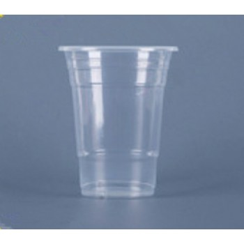 EaMaSy Party  450ML Translucent Squat  Thin Wall Plastic Cold Cup