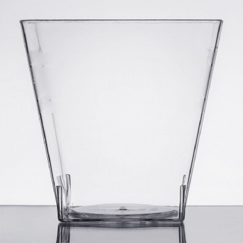 EaMaSy Party 5.4 oz. Tiny Tumblers Clear Plastic Cup
