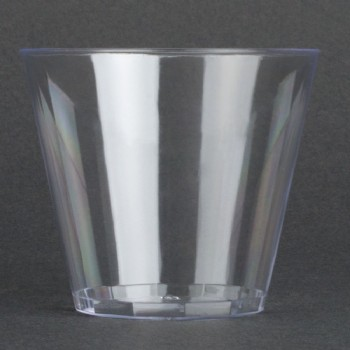 EaMaSy Party  5 oz. Squat Clear Hard Plastic Tumbler