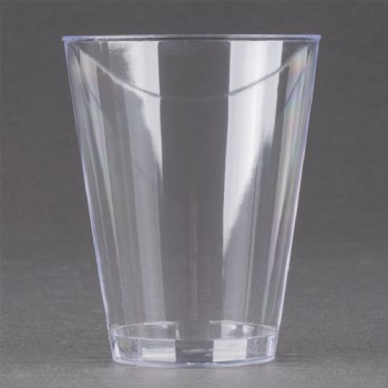EaMaSy Party  7 oz. Tall Clear Hard Plastic Tumbler
