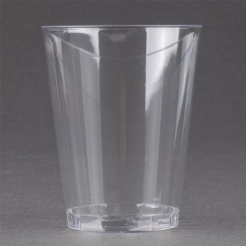 EaMaSy Party  8 oz. Tall Clear Hard Plastic Tumbler
