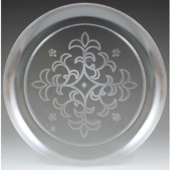 EaMaSy Party  Crystal   10'' Clear Plastic Plate