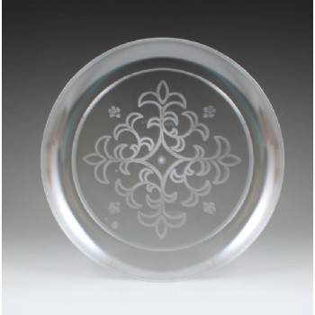 EaMaSy Party  Crystal   6'' Clear Plastic Plate