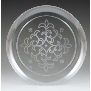 EaMaSy Party  Crystal   9'' Clear Plastic Plate