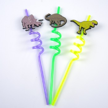 EaMaSy Party Jumbo 5mm Dinosaur  Art  Straws/Crazy Diy Straw